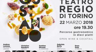 22/03/18: Degustando – III edizione (Teatro Regio, Torino)
