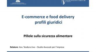 E-commerce e food delivery – Profili giuridici
