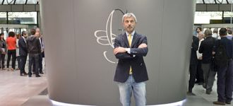 4 June 2014: The new Guido Gobino chocolate tasting and sales point opens at Turin Airport.