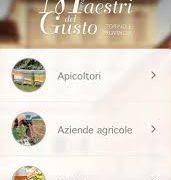 """App """"Maestri del Gusto di Torino e provincia"""""""