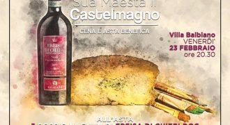 23/02/18: Villa Balbiano Arts Club – Sua Maestà il Castelmagno (Andezeno, To)