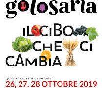 26-28/10/19: Golosaria Milano