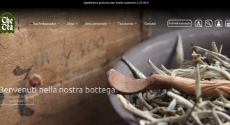 Nuovo ecommerce The Tea