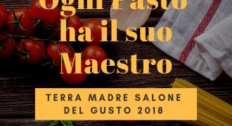 20-24/09/18: Ogni Pasto ha il suo Maestro