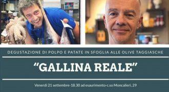 """21/09/18: Degustazione """"Gallina Reale"""" (Torino)"""