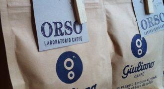 News from Giuliano Caffè: Orso Laboratorio Caffè (San Salvario district, Turin)